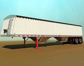 Grain Trailer 3D model