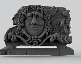 3D print model The Statue of Medusa in Apollo Temple