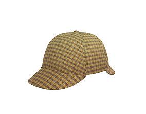 Deerstalker Hat 3D model