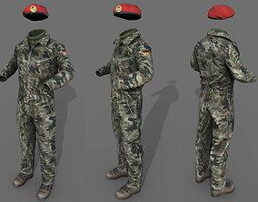 Tank crew 3D model realtime