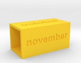 Calendar3 3D print model