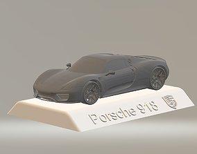 PORSCHE 918 CAR 3D PRINTING STL FILE