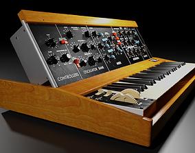 keyboard Minimoog Model D Synthesizer