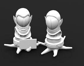 3D print model Kang and Kodos