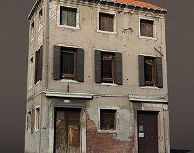 3D Apartment Building Venice Low Poly 144