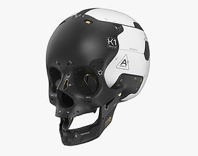 3D medical Artificial Skull