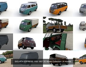 GOLIATH EXPRESS 1100 1957 3D Model Collection