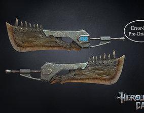 Monster Hunter World - Giant JawBlade 1 3D print model 1