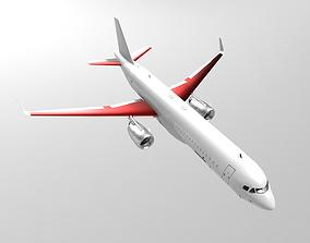 3D Model of the Airbus A320 PBR