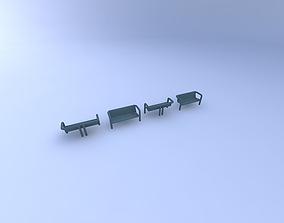 3D model Benches,-Park