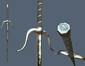 3D model Sai Melee Weapon