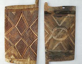 Igbo Doors from Nigeria panel 3D model