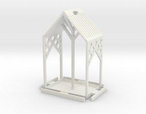 pajaros Birdfeeder 3D print model