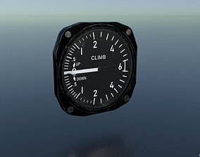 RATE OF CLIMB INDICATOR 3D asset