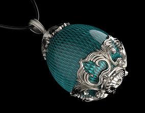 Easter egg sapphire 3D print model