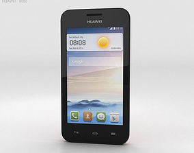 Huawei Ascend Y330 Coral Pink 3D