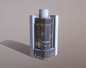 3D asset Building Frankfurt ABC International Bank