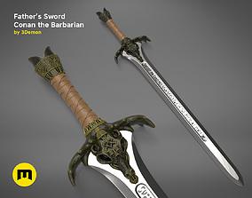3D printable model Fathers Sword - Conan the Barbarian