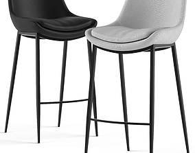 3D model Globewest Pepper Barstool