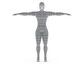 3D model Low Poly Base Mesh Male