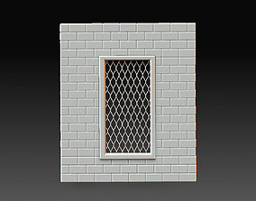3D print model Wall window