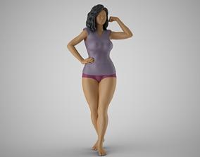 3D print model Woman Feeling Strong