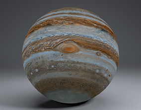 Jupiter 6k 3D model
