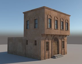 3D model Old style House
