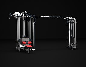3D Multistation Fitness Cable Machine