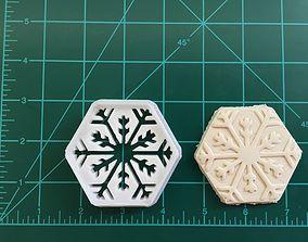 Snowflake Cookie Cutter 3D print model