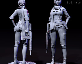 3D print model Sherry birkin Resident evil 6
