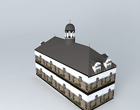 3D model Tourist Office