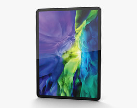 Apple iPad Pro 11-inch 2020 Silver 3D model