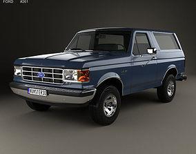 3D Bronco 1989