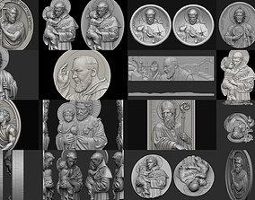 3D model Saints collection