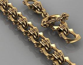 3D print model Royal Lily bracelet 0105