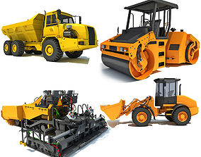mining Construction Vehicles 3D