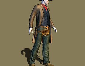 3D printable model Cowboy