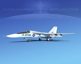 General Dynamics F-111 Aardvark V04 3D