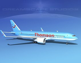 Boeing 767-300 Thomson Fly 3D model