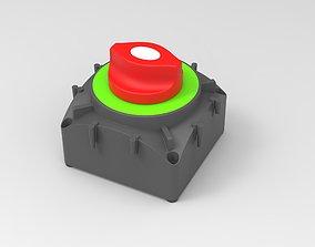 3D Marine Battery Both Switch