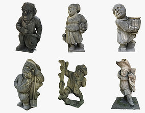 Garden Gnome Collection 3D