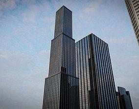 SKYSCRAPER CITY BUILDING 05 3D asset