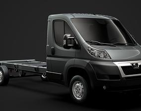 Citroen Jumper Relay Chassis Truck Single Cab 3D model 1