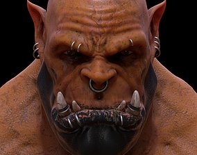 3D printable model Garrosh Bust