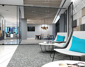 Full Office Interior 26 3D