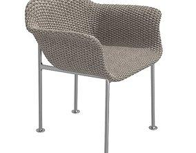 3D model JANUS et Cie GINA Chair with armrests