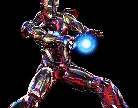 Iron Man - Bleeding Edge armor 3D print model
