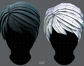 3D Hair style for Man V03 realtime