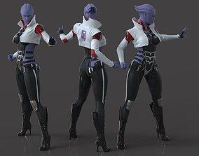 Aria TLoak - Mass Effect - Fan Art 3D printable model